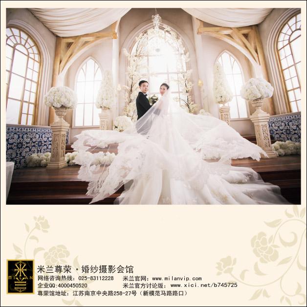 【米兰婚照】婚纱照拍摄交给米兰尊荣真的超放心啦!